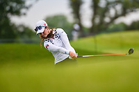 Nuria Iturrioz (ESP) hits her second shot on 11 during the round 1 of the KPMG Women's PGA Championship, Hazeltine National, Chaska, Minnesota, USA. 6/20/2019.<br /> Picture: Golffile | Ken Murray<br /> <br /> <br /> All photo usage must carry mandatory copyright credit (© Golffile | Ken Murray)