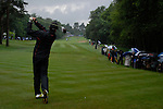 Jean Van De Velde tees off on the 3rd hole during the final round of the BMW PGA Championship at Wentworth Club, Surrey, England 27th May 2007 (Photo by Eoin Clarke/NEWSFILE)