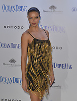 www.acepixs.com<br /> <br /> March 22 2017, Miami<br /> <br /> Adriana Lima arriving at the Ocean Drive Magazine March issue cover party at KOMODO Restaurant and Lounge on March 22, 2017 in Miami, Florida.<br /> <br /> By Line: Solar/ACE Pictures<br /> <br /> ACE Pictures Inc<br /> Tel: 6467670430<br /> Email: info@acepixs.com<br /> www.acepixs.com