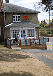 The Weavers tea room, Peasenhall, Suffolk, England