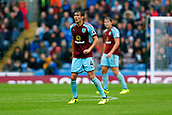 10th September 2017, Turf Moor, Burnley, England; EPL Premier League football, Burnley versus Crystal Palace; Jack Cork of Burnley, who  received the man of the match award