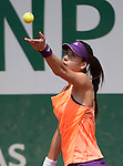 Sorana Cirstea (ROU) loses to Jelena Jankovic (SRB)  6-1, 6-2 at  Roland Garros being played at Stade Roland Garros in Paris, France on May 31, 2014