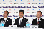 (JPN), <br /> JUNE 10, 2013 - Athletics : Athletics Japan National Team Press Conference for the IAAF World Championships 2013 Moscow at Akasaka Sacas Gallery in Tokyo, Japan. <br /> (Photo by AFLO SPORT)