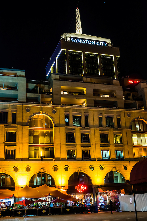 Hard Rock Cafe, Nelson Mandela Square,  Sandton City Mall, Sandton, Johannesburg, South Africa.