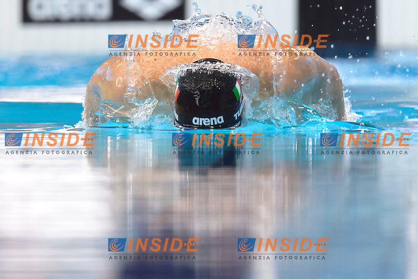 Federico TURRINI ITA <br /> 200m Medley Men preliminary <br /> London, Queen Elizabeth II Olympic Park Pool <br /> LEN 2016 European Aquatics Elite Championships <br /> Swimming<br /> Day 09 17-05-2016<br /> Photo Andrea Staccioli/Deepbluemedia/Insidefoto
