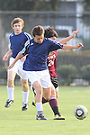 El Segundo, CA 02/04/10 - unidentified El Segundo player and unidentified Torrance player in action during the El Segundo - Torrance league game, El Segundo defeated Torrance with a late minute goal in the second overtime period.