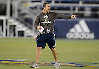 Florida International University Head Coach Mario Cristobal during the Spring Game on March 30, 2012 at Miami, Florida. .