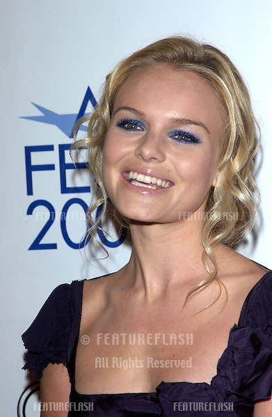 Nov 5, 2004; Los Angeles, CA, USA;  Actress KATE BOSWORTH at the USA premiere of her new movie Beyond the Sea. The movie was the opening night film for the 2004 AFI Fest.