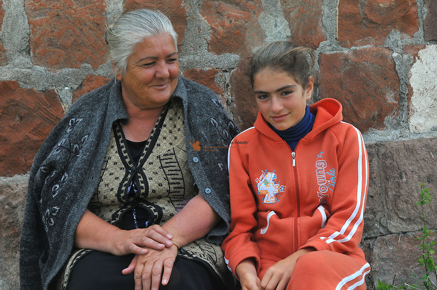 Portrait of Grandmother with Niece
