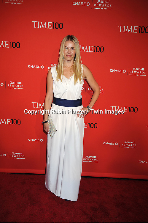 Chelsea Handler attends The Time 100 Most Influential People in the World Gala on April 24, 2012 at Frederick P Rose Hall at Lincoln Center in New York City.