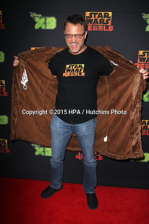 """LOS ANGELES - FEB 18:  Steve Blum at the Global Premiere of """"Star Wars Rebels"""" Season 2 at the Star Wars Celebration, Anaheim Convention Center on April 18, 2015 in Anaheim, CA"""