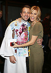 Curtis Holbrook and Jenn Colella during the Broadway Opening Night  AEA Gypsy Robe Ceremony honoring Curtis Holbrook for  'IF/THEN' at the Richard Rodgers Theatre on March 30, 2014 in New York City.