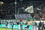14.02.2020, Preußenstadion, Münster, GER, 3.FBL, SC Preussen Muenster vs. FC Wuerzburger Kickers, <br /> <br /> DFL REGULATIONS PROHIBIT ANY USE OF PHOTOGRAPHS AS IMAGE SEQUENCES AND/OR QUASI-VIDEO<br /> <br /> im Bild<br /> Fankurve / Fans / Fanblock / SC Preussen Muenster<br /> <br /> Foto © nordphoto / Paetzel