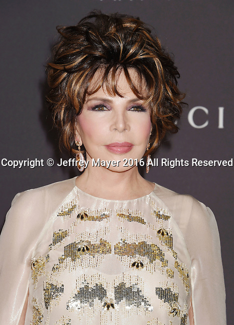 LOS ANGELES, CA - OCTOBER 29: LACMA Trustee/songwriter Carole Bayer Sager attends the 2016 LACMA Art + Film Gala honoring Robert Irwin and Kathryn Bigelow presented by Gucci at LACMA on October 29, 2016 in Los Angeles, California.