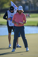 Tommy Fleetwood (ENG) looks over his putt on 6 during round 2 of the Arnold Palmer Invitational at Bay Hill Golf Club, Bay Hill, Florida. 3/8/2019.<br /> Picture: Golffile | Ken Murray<br /> <br /> <br /> All photo usage must carry mandatory copyright credit (&copy; Golffile | Ken Murray)