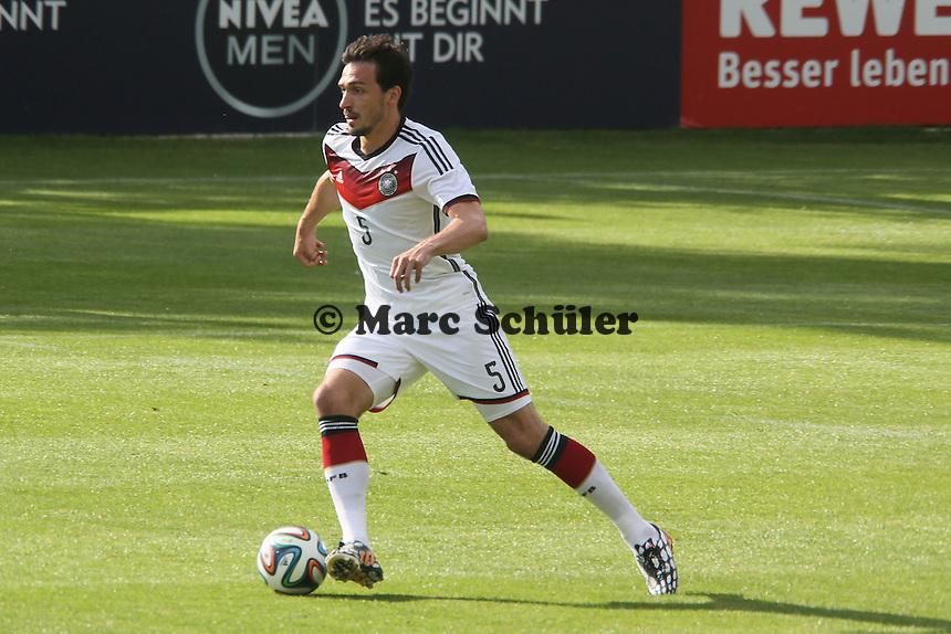 Mats Hummels - Testspiel der Deutschen Nationalmannschaft gegen die U20 zur WM-Vorbereitung in St. Martin