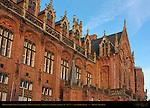 Hogeschool West-Vlanderen, Howest College, 14th-19th c. Architecture, Sint-Jorisstraat, Bruges, Brugge, Belgium