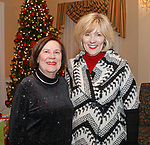 Waterbury, CT 120717MK12 Ginny O'Rourke Cookson, O'Rourke and Birch Florist and Maryann Hebert Baunon and Hebert Realtor, gathered for the Waterbury Youth Services, Inc. Santa's Workshop at The Country Club of Waterbury. The event helps raise funds to make the holiday season memorable for children in need Michael Kabelka / Republican-American