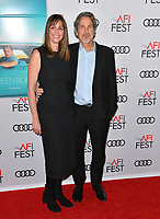 LOS ANGELES, CA. November 09, 2018: Peter Farrelly &amp; Melinda Kocsis  at the AFI Fest 2018 world premiere of &quot;Green Book&quot; at the TCL Chinese Theatre.<br /> Picture: Paul Smith/Featureflash