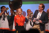 SCHAATSEN: HEERENVEEN: Thialf, KPN NK Sprint, 30-12-11, Thijsje Oenema, Jan van der Meulen, ©foto: Martin de Jong.