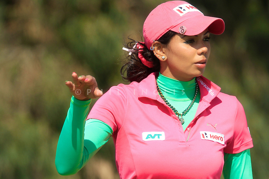 Sharmila Nicollet (IND)  20th Coupe Lalla Meryem played at Golf de L'Ocean d'Agadir, Agadir, Morocco 13 - 16 March 2014. (Picture Credit / Phil Inglis)
