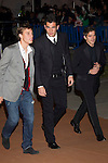 MADRID (04/11/2010).- Real Madrid Foundation held  its annual gala, Alma Awards 2010. Sergio Canales, Fernando Gago and Codina...Photo: Cesar Cebolla / ALFAQUI