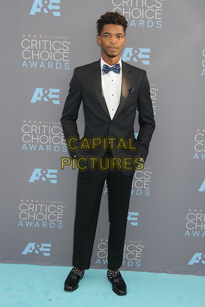17 January 2016 - Santa Monica, California - Kingsley. 21st Annual Critics' Choice Awards - Arrivals held at Barker Hangar. <br /> CAP/ADM/BP<br /> &copy;BP/ADM/Capital Pictures