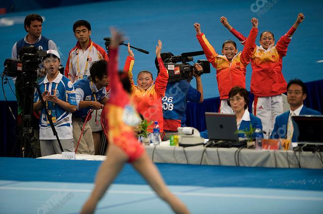 Women' Gymnastics Team final, China-gold,  Summer Olympics, Beijing, China, August 13, 2008