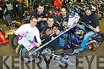 REV-UP 4 DSI: Launching the 2nd Annual Dyno Day in aid of Down Syndrome Ireland to be held on the 26th of February at O'Neills Power Equipment Clash, Tralee l-r: Mark Ennis, John McElligott, Tom Dolan, and Niall and Raymond O'Neill.