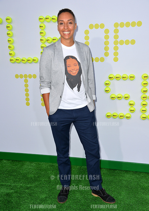 Layshia Clarendon at the premiere for &quot;Battle of the Sexes&quot; at the Regency Village Theatre, Westwood, Los Angeles, USA 16 September  2017<br /> Picture: Paul Smith/Featureflash/SilverHub 0208 004 5359 sales@silverhubmedia.com