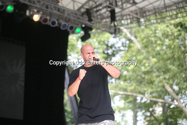 Sandman Performs at Rock Steady Crew 36th Year Anniversary Celebration at Central Park's SummerStage, NY