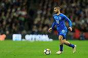 27th March 2018, Wembley Stadium, London, England; International Football Friendly, England versus Italy; Lorenzo Insigne of Italy