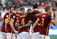Calcio, Serie A: Roma vs Hellas Verona. Roma, stadio Olimpico, 17 gennaio 2016.<br /> during the Italian Serie A football match between Roma and Hellas Verona at Rome's Olympic stadium, 17 January 2016.<br /> UPDATE IMAGES PRESS/Isabella Bonotto