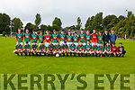The Mid Kerry team that played Eoghan Ruadh  in the u16 County Championship QF in Beaufort on Wednesday evening