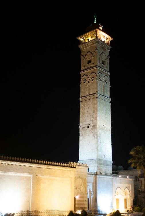 Grand mosqu&eacute;e ou mosqu&eacute;e ommayade. <br /> &bull; <br /> Grand mosque or Ummayyad mosque.