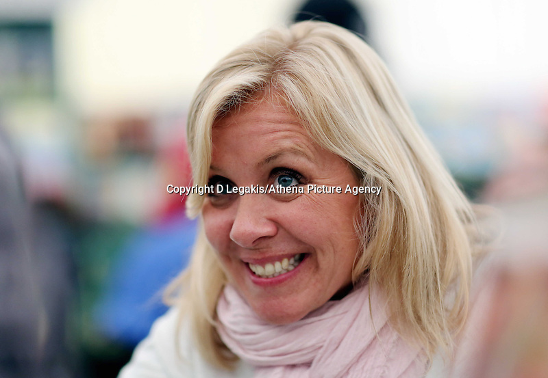 Wednesday 28 May 2014, Hay on Wye, UK<br /> Pictured: Lucy Hawking<br /> Re: The Hay Festival, Hay on Wye, Powys, Wales UK.