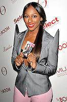 London - Alexandra Burke launches the MUA Lip Boom lip gloss range at the Rose Club, London - April 11th 2012..Photo by Amy Harris.