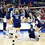 2014 BYU Women's Volleyball - NCAA vs Nebraska