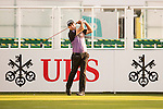 Terry Pilkadaris of Australia tees off the first hole during the 58th UBS Hong Kong Open as part of the European Tour on 08 December 2016, at the Hong Kong Golf Club, Fanling, Hong Kong, China. Photo by Marcio Rodrigo Machado / Power Sport Images