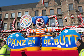 Düsseldorf, Germany. 16 February 2015. The traditional Shrove Monday (Rosenmontag) carnival parade takes place in Düsseldorf, Germany. 1.2 million revellers lined the route. The Monday parades went ahead despite increased terror warnings which led to the parade in Brunswick (Braunschweig) being cancelled shortly before it was due to take place.