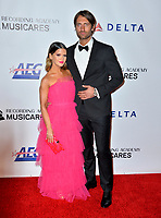 LOS ANGELES, CA. February 08, 2019: Maren Morris &amp; Ryan Hurd at the 2019 MusiCares Person of the Year Gala honoring Dolly Parton at the Los Angeles Convention Centre.<br /> Picture: Paul Smith/Featureflash