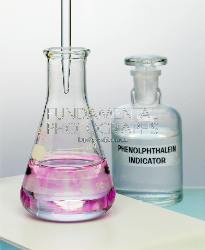 TITRATION OF AN ACID WITH A BASE- PHENOLPHTHALEIN<br />