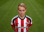 Louis Reed of Sheffield Utd during the 2016/17 Photo call at Bramall Lane Stadium, Sheffield. Picture date: September 8th, 2016. Pic Simon Bellis/Sportimage