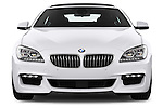 Straight front view of a 2012 Bmw SERIES 6 Gran Coupe 640i 4 Door Sedan 2WD