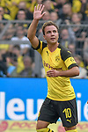 06.10.2018, Signal Iduna Park, Dortmund, GER, DFL, BL, Borussia Dortmund vs FC Augsburg, DFL regulations prohibit any use of photographs as image sequences and/or quasi-video<br /> <br /> im Bild Mario G&ouml;tze / Goetze (#10, Borussia Dortmund) jubelt nach seinem Tor zum 2:1 vor den Dortmunder Fans<br /> <br /> Foto &copy; nph/Horst Mauelshagen