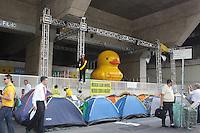 SÃO PAULO,SP, 21.03.2016 - PROTESTO-DILMA - Manifestantes contrario ao governo Dilma Rousseff durante ato pelo impeachment da presidente na avenida Paulista em São Paulo, nesta segunda,21 (Foto: Adar Rodrigues/Brazil Photo Press)
