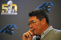 02.02.2016: Carolina Panthers Pressekonferenz