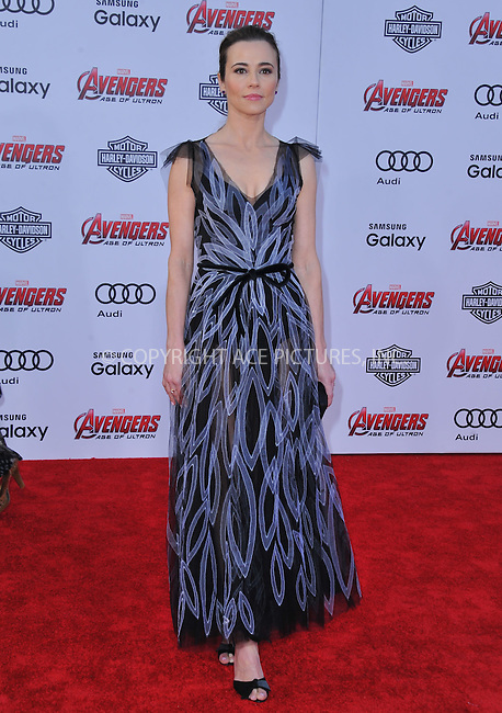 WWW.ACEPIXS.COM<br /> <br /> April 13 2015, LA<br /> <br /> Linda Cardellini arriving at the Premiere Of Marvel's 'Avengers: Age Of Ultron' at the Dolby Theatre on April 13, 2015 in Hollywood, California.<br /> <br /> <br /> By Line: Peter West/ACE Pictures<br /> <br /> <br /> ACE Pictures, Inc.<br /> tel: 646 769 0430<br /> Email: info@acepixs.com<br /> www.acepixs.com