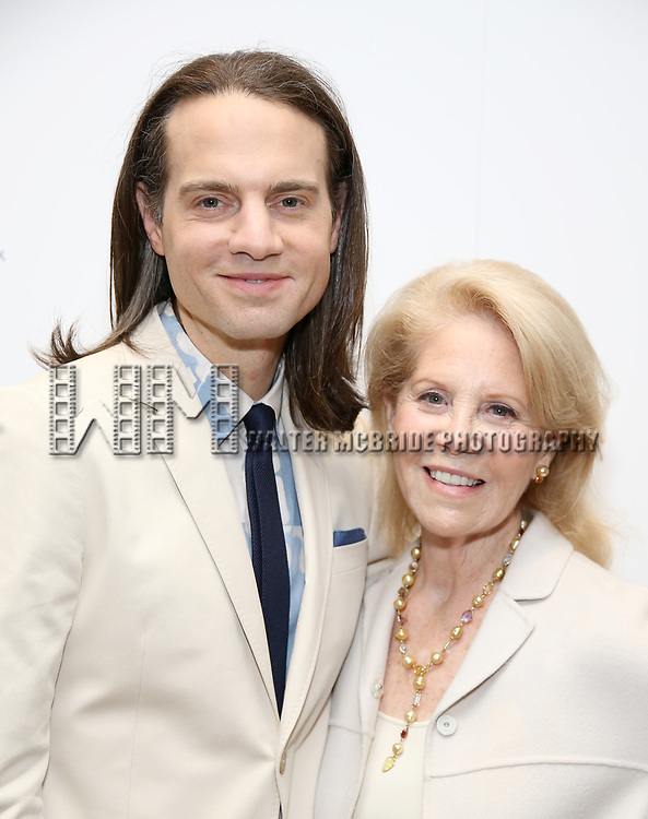 Jordan Roth and Daryl Roth attends The 7th Annual Elly Awards at The Plaza Hotel on June 19, 2017 in New York City.