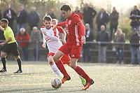 Karsten Specht (Hoechst) - Büttelborn 31.10.2017: SKV Büttelborn vs. TSV Höchst